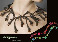 Carla Reiter necklace - chain and beads