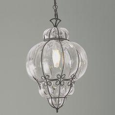 Fasciati Glass Lantern - Shades of Light