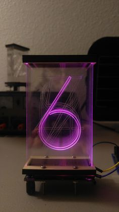 """Lixie"", an LED alternative to the Nixie Tube Nixie Tube, Diy Tech, Cool Tech, Electronics Gadgets, Electronics Projects, Cool Raspberry Pi Projects, Arduino Laser, Rgb Led, 3d Prints"
