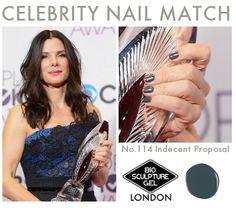 Celebrity Nail Match: #BioSculptureGel No.114 Indecent Proposal