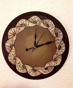 HP Craftalong ~Fall Semester 2014~ A Weasley Clock ~ Flying