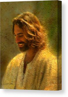 Greg Olsen Art, Jesus Laughing, Jesus Smiling, Image Jesus, Pictures Of Jesus Christ, Images Of Christ, Pictures Of Angels, Lds Art, Jesus Painting