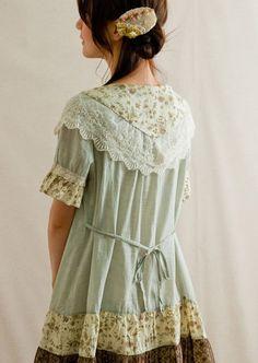 mori girl blouses usually don't follow the standard waist.