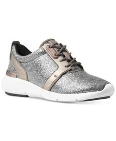 MICHAEL KORS Michael Michael Kors Amanda Trainer Sneakers. #michaelkors #shoes # sneakers