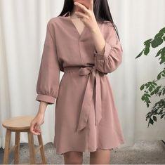Fashion Tips Dresses .Fashion Tips Dresses Korean Fashion Dress, Ulzzang Fashion, Fashion Dresses, 70s Fashion, Skater Fashion, Vintage Fashion, Vintage 70s, Fashion Online, Style Fashion