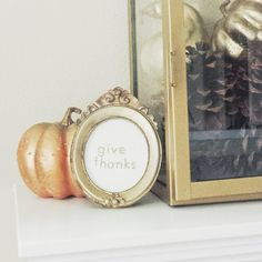 Heather Hess: Free and Easy Thanksgiving Decor