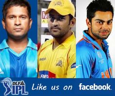 IPL 5 2012, DLF Indian Premier League, Cricket