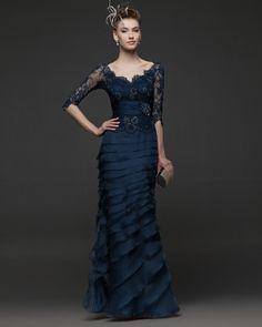 2B4 (Vestido de Fiesta). Diseñador: Rosa Clará. ...