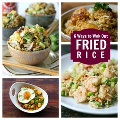 Some great ideas here! 6 Fun Twists on Fried Rice via @Babbleeditors