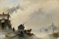 Charles Leickert - Winterdag