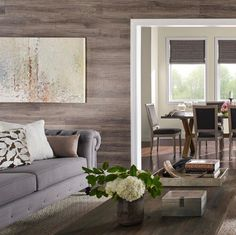 Laminate Flooring On Walls For A Warm And Luxurious Feel