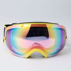 New Ski Glasses Snowboard Goggles Double Lens Antifog UV400 Polycabonate 2300YE | eBay
