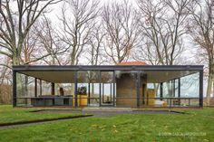 The Glass House   Philip Johnson Fotografía de arquitectura · Architectural photography   www.arqfoto.com © Simon Garcia