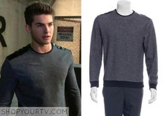 TEEN WOLF: SEASON 5 EPISODE 7 THEO'S black and grey sweater