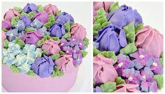Tutorial: Tulip and Hydrangea Buttercream Cake - CAKE STYLE