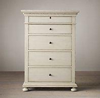 St. James 5-Drawer Narrow Dresser