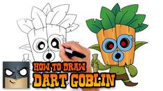 How to Draw Dart Goblin | Clash Royale