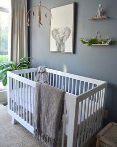 Gender neutral nursery gray nursery decor