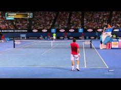 Australian Open 2012 - Federer vs Nadal - Semifinal