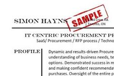 The What's In It For Me Principle of Resume Development