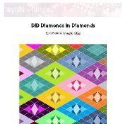 Diamonds in Diamonds - via @Craftsy
