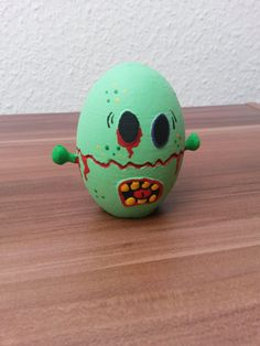 Zombie Easter Egg by CuteAndSilly on Etsy