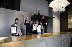 Designawards: Falten ausdrücklich erwünscht - Steininger Küchen Design, Design Awards, Conference Room, Modern, Trendy Tree