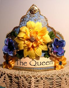 Donna Perry crown SOLD