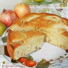 Torta con pere mele e mandorle Blog Profumi Sapori & Fantasia