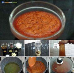 Lahsun Ki Chutney (Garlic Chutney Sauce) recipe step by step