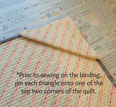 pin triangles