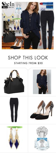 """""""2#SheIn"""" by fatimka-becirovic ❤ liked on Polyvore featuring Vince Camuto and Lipstick Queen"""