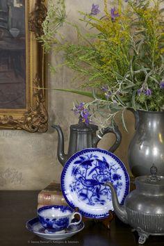 Antique tea pot   Antique pewter accessories #tea #antique #pewter