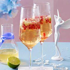 Granatapfel Prosecco Cocktail