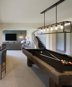 Billiard Table Industrial Lighting