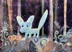 Lovely forrest by kot matroskin on Etsy