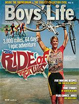 Boys life magazine has a pretty cool website with jokes and magic tricks and activities.
