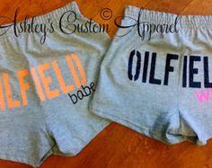 Oilfield Wifey  Oilfield Babe  Oilfield Wife Shirt