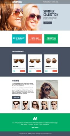 make money online pay per click landing page design template https ...