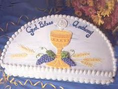 Order your first communion, mother's day, graduation cake today! $45 and local pickup only at this time.