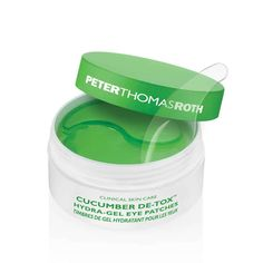 Peter Thomas Roth Cucumber De-Tox Hydra-Gel Eye Patches care dark circles care logo care skin care tips care vision Peter Thomas Roth, Skin Care Regimen, Skin Care Tips, Cucumber For Skin, Eye Gel Pads, Best Eye Cream, Mascara Tips, Beauty Routines, Good Skin