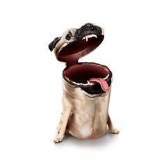 DOG CHOW / Trashcans by cristhian ramírez, via Behance