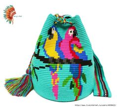 Crochet Butterfly Pattern, Crochet Purse Patterns, Granny Square Crochet Pattern, Tapestry Bag, Tapestry Crochet, Knit Crochet, Crochet Handbags, Crochet Purses, Mochila Crochet
