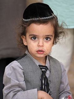 I'm in love with every little Jewish child I see.