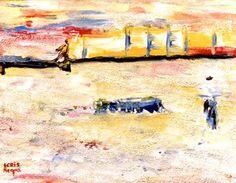 "Saatchi Art Artist Cris Acqua; Painting, ""1-Expresionismo Abstracto."" #art http://www.saatchiart.com/art-collection/Painting/Expresionismo-ABSTRACTO/45144/70230/view"