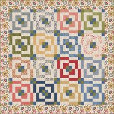 "FREE quilt pattern: ""Dilly Day"" (from Fabri-Quilt)"