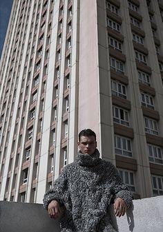 Filip Hrivnak. Photo by Lukasz Pukowiec.  menswear mnswr mens style mens fashion fashion style filiphrivnak campaign lookbook