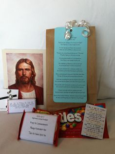 Great to be 8 and Baptism Preview gift bag.