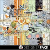 Digital Scrapbooking Kit Hello You by Mel Hains Designs #digiscrap #melhainsdesigns