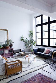 Un salon au style kinfolk / Kinfolk home